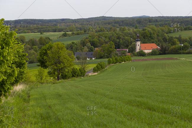 Europe, Poland, Lower Silesia, Dobkow - Klein Helmsdorf
