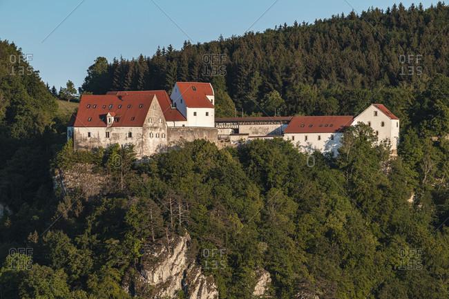 Wildenstein Castle, Upper Danube Valley, Schwabsiche Alb, Leibertingen, Baden-Wurttemberg, Germany, Europe
