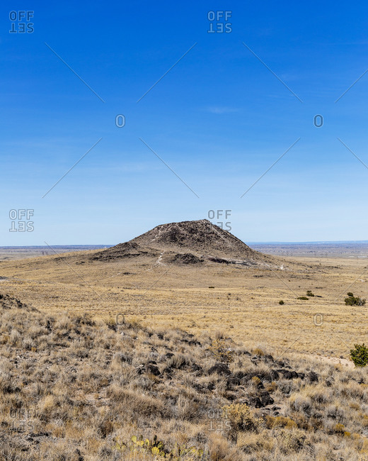 Volcanic Field Outside of Albuquerque New Mexico