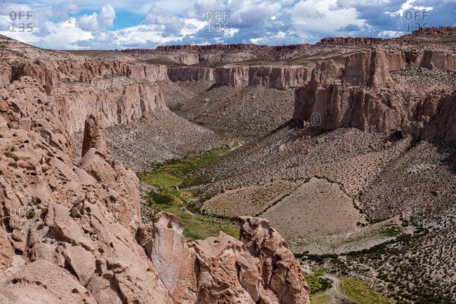 Anaconda Canyon views in Eduardo Avaroa National Park, Bolivia