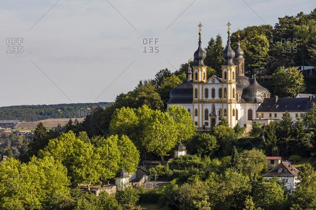 Germany- Bavaria- Wurzburg- Pilgrimage Church of Visitation of Mary