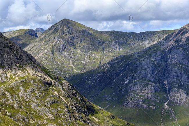 Glen Etive in Scottish Highlands