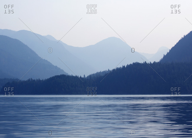 Morning light at Desolation Sound, British Columbia, Canada