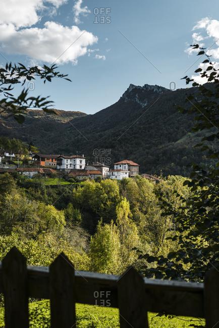 Spain- Asturias- Ponga- Alpine town inPicosdeEuropa