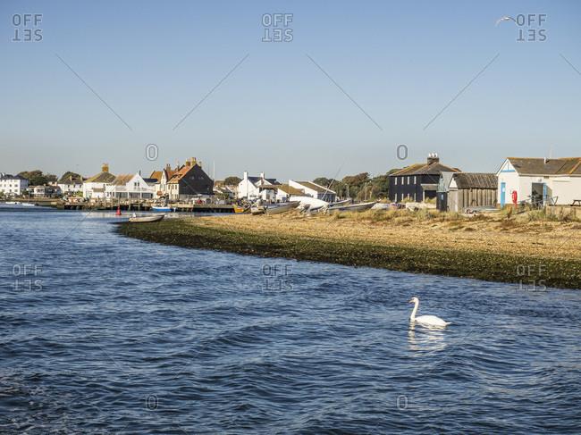 The Quay, Mudeford, Dorset, England, United Kingdom, Europe