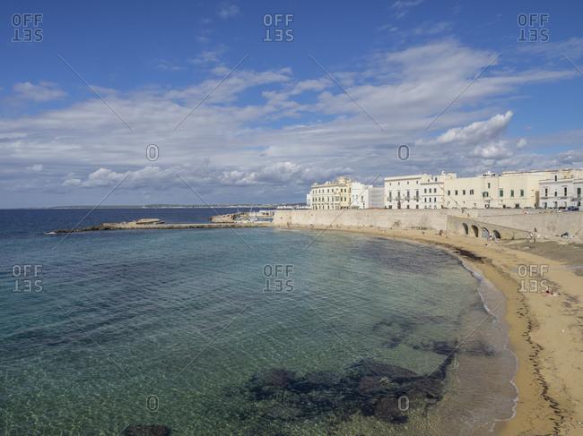 The Beach, Gallipoli, Puglia, Italy, Europe