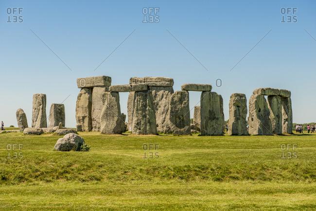 Stonehenge Neolithic monument, UNESCO World Heritage Site, Salisbury Plain, Salisbury, Wiltshire, England, United Kingdom, Europe