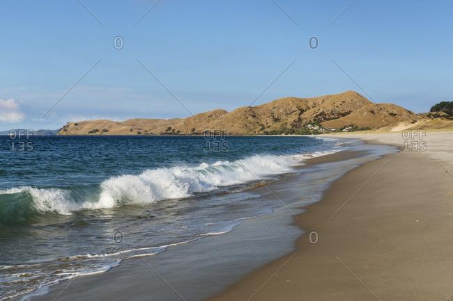 Otama Beach, near Whitianga Village, Coromandel Peninsula, Waikato, North Island, New Zealand, Pacific