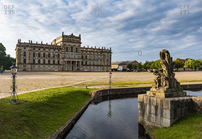 July 17, 2020: Ludwigslust Palace, Ludwigslust, Mecklenburg-Vorpommern, Germany, Europe