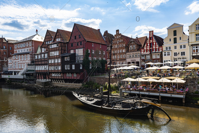 July 17, 2020: Stint Market, Luneburg, Lower Saxony, Germany, Europe