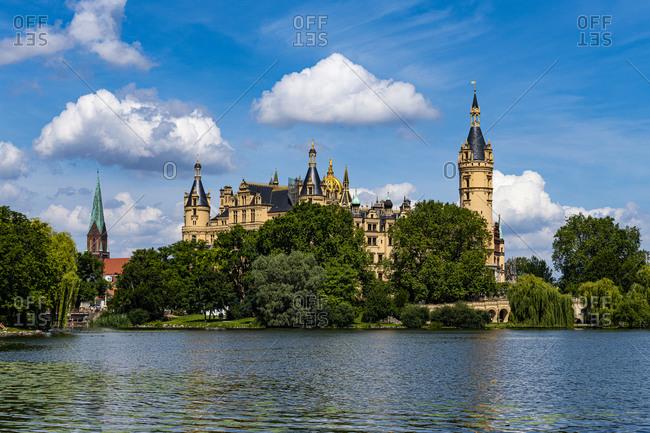 Schwerin Castle, Schwerin, Mecklenburg-Vorpommern, Germany, Europe