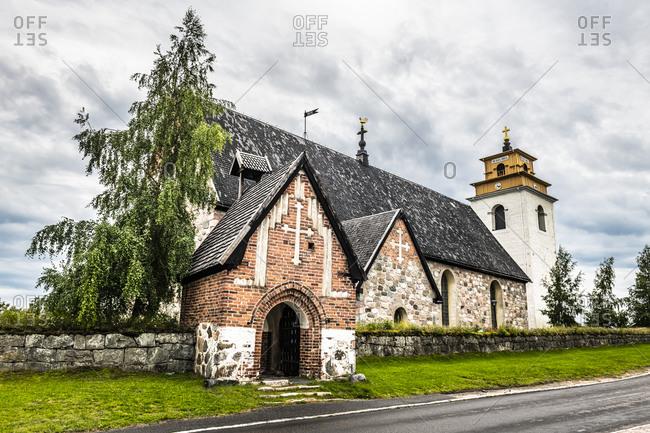Nederlulea Church, UNESCO World Heritage Site, Gammelstad church town (Gammelstaden), Lulea, Sweden, Scandinavia, Europe