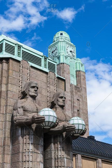 Railway Station, Helsinki, Finland, Europe