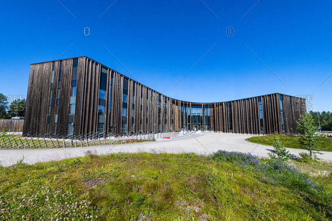 July 30, 2020: Siida Museum for Sami culture, Inari, Lapland, Finland, Europe