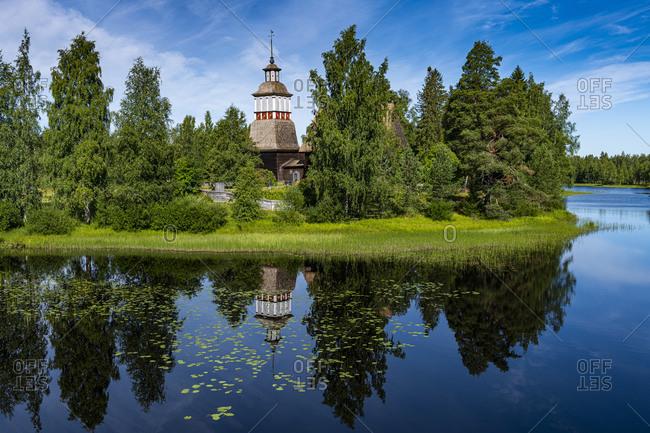 Old Wooden Church, UNESCO World Heritage Site, Petaejeveden (Petajavesi), Finland, Europe