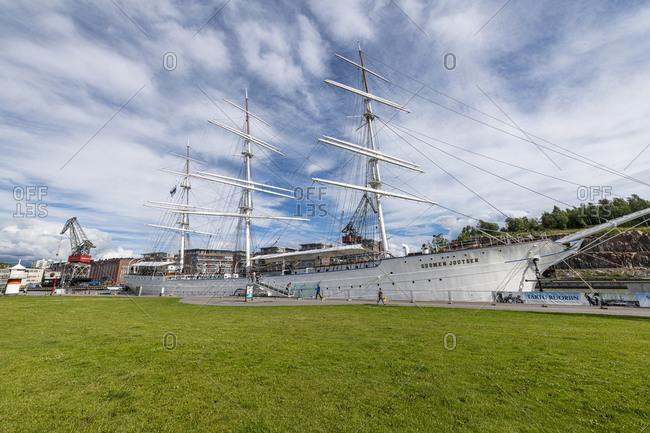 July 25, 2020: Forum Marinum, maritime museum, Turku, Finland, Europe