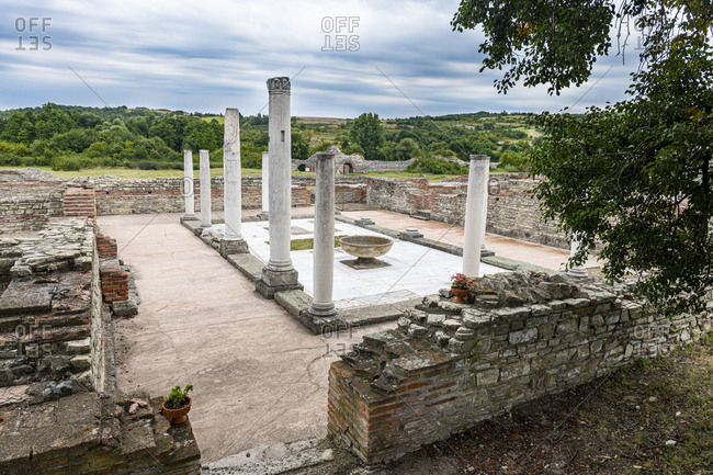 Ancient Roman ruins of Gamzigrad, UNESCO World Heritage Site, Serbia, Europe