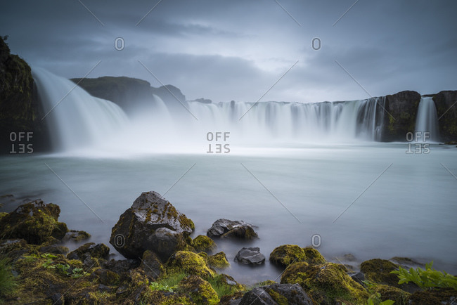 Godafoss (Waterfall of the Gods), North Iceland