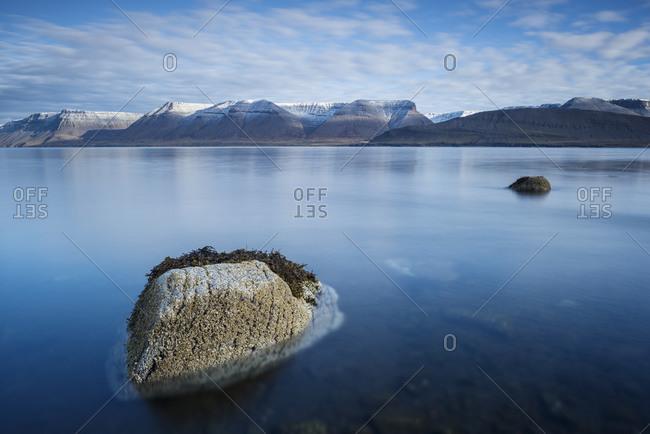 Seascape from Dyrafjordur, Westfjords of Iceland