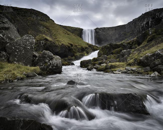 Svodufoss waterfall, Snaefellsnes Peninsula, Iceland