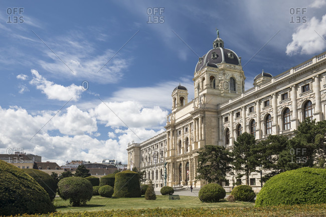 Natural history museum, 1st district, vienna, austria