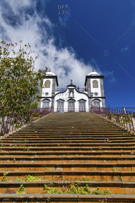 To see the pilgrimage church nossa senhora do monte in funchal, madeira, portugal