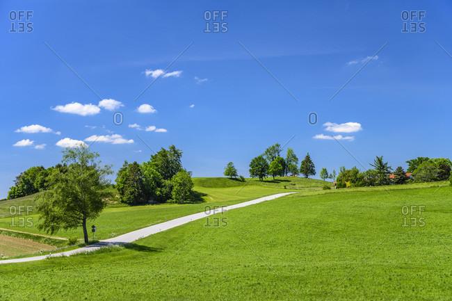 Germany, bavaria, upper bavaria, tiler land, dietramszell, peretshofen district, peretshofer home
