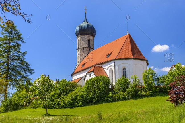 Germany, bavaria, upper bavaria, tiler land, dietramszell, lochen district, st. magdalena church