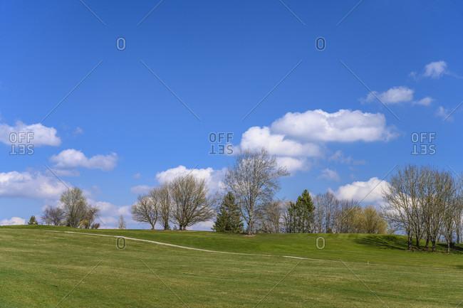 Germany, bavaria, upper bavaria, tiler land, eurasburg, beuerberg district, beuerberg golf club