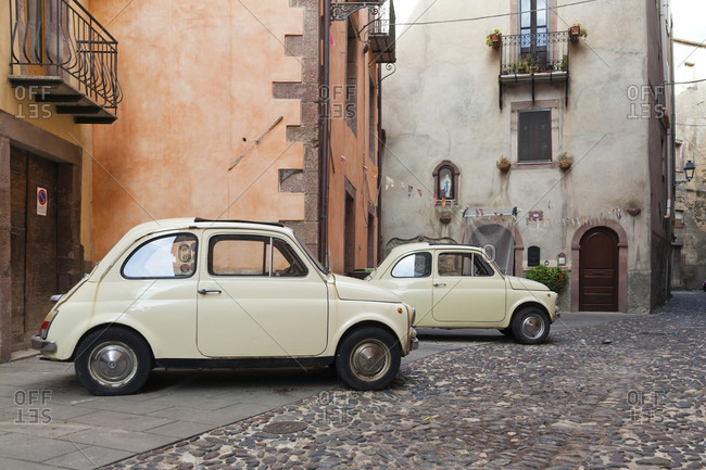 July 21, 2018: Fiat 500, nuova, cinquecento, car, vintage car, italy,