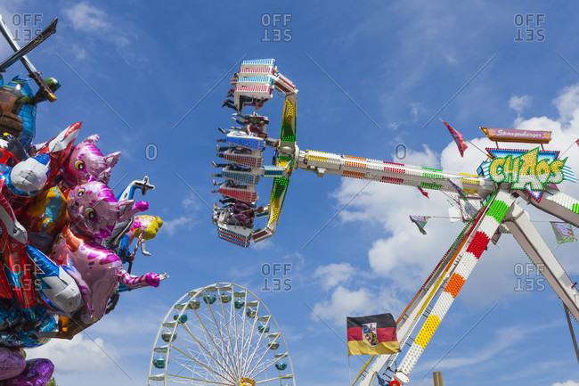 November 5, 2018: Fun fair, fairground, folk festival, amusement ride, looping, fair