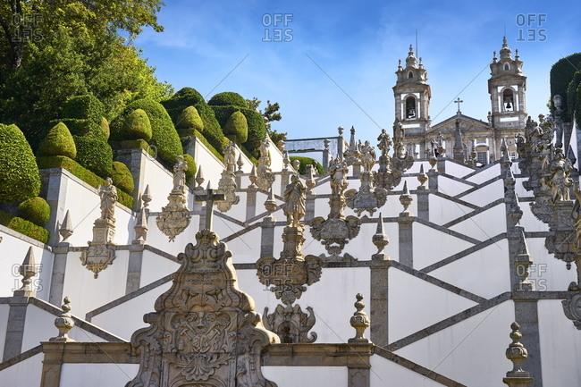 December 3, 2020: Staircase of Bom Jesus do Monte Sanctuary