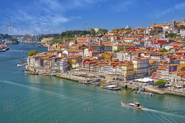 December 3, 2020: Cais Da Ribeira, Porto, Portugal