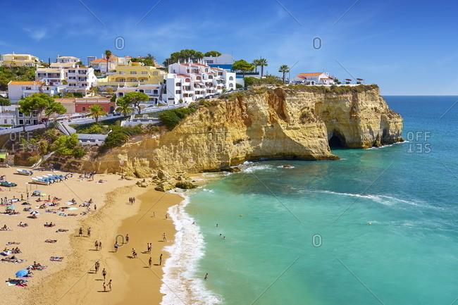 December 3, 2020: Praia do Carvoeiro, Algarve, Portugal