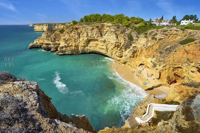 Paradise Beach, Carvoeiro, Algarve, Portugal