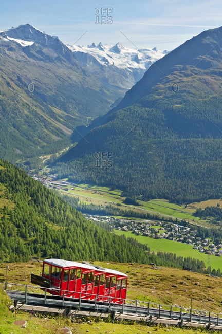 August 25, 2018: Punt Muragl funicular to Alp Muottas and Muottas Muragl