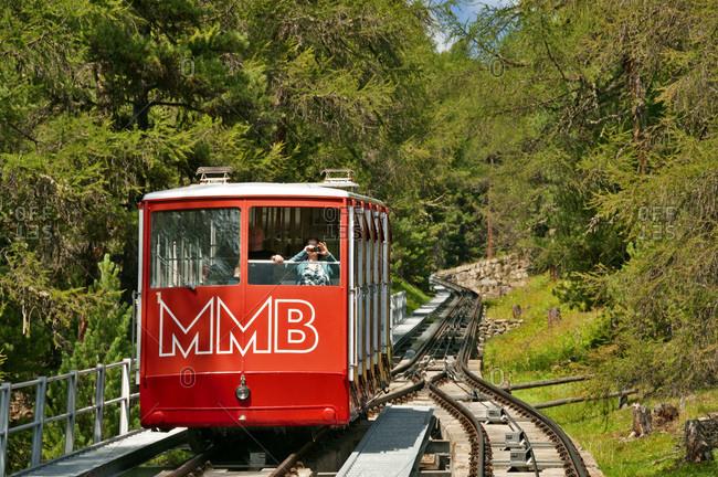 July 30, 2017: Punt Muragl funicular to Alp Muottas and Muottas Muragl