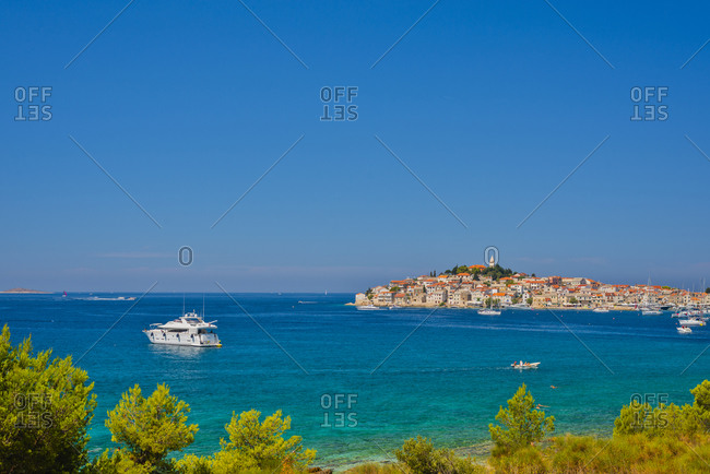 View of  Adriatic Coast, Croatia, Dalmatia