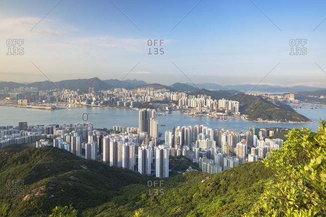 Apartment blocks of Hong Kong Island and East Kowloon, Hong Kong