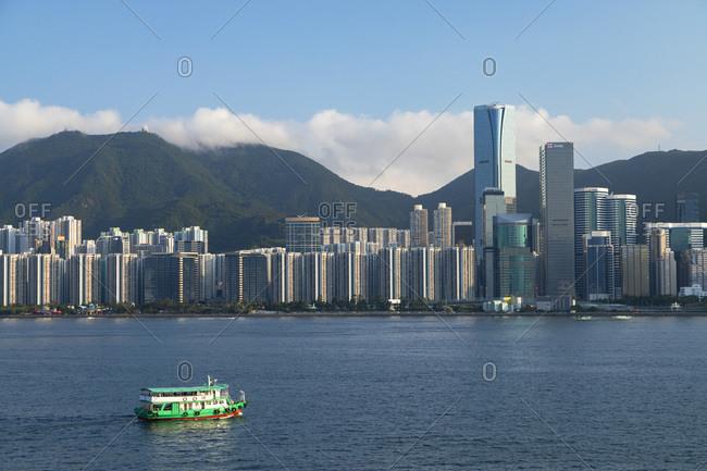May 3, 2020: Skyscrapers of Quarry Bay, Hong Kong
