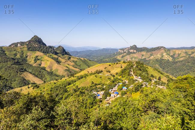 Thailand, Mae Hong Son Province, Village of Pai