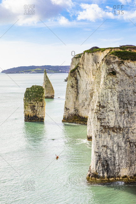 Foreland or Handfast Point, Old Harry Rocks, Argentina