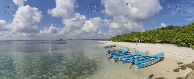October 28, 2017: Pigeon Island, Natural Park off shore Nilaveli Coast