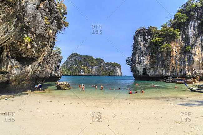 March 29, 2014: Koh Lao Lading (Paradise island), Mueang Krabi District