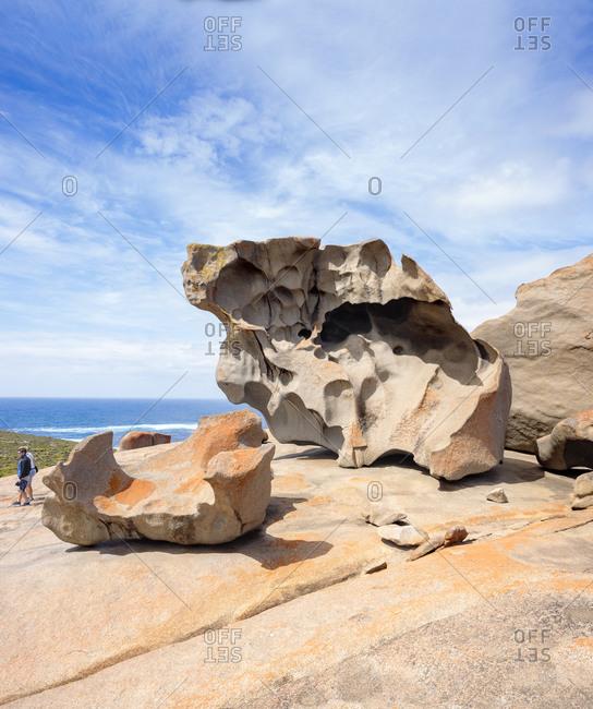 Australia, South Australia, Kangaroo Island, Remarkable Rocks