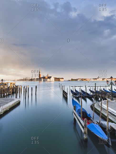 View towards the island of San Giorgio Maggiore from the Ponte della Paglia