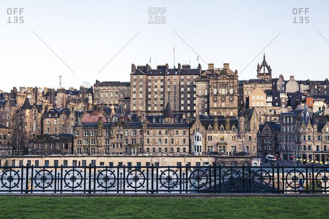 UK- Scotland- Edinburgh- Old town buildings