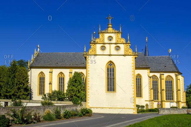 Germany- Bavaria- Dettelbach- Pilgrimage church Maria im Sand exterior