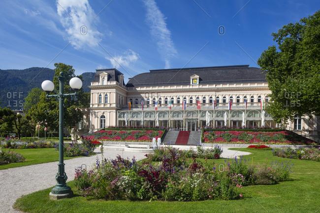Congress and Theater House in Kurpark- Salzkammergut- Bad Ischl- Upper Austria- Austria