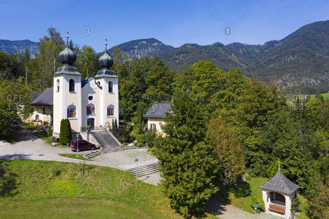 Kalvarienbergkirche on sunny day- Salzkammergut- Bad Ischl- Upper Austria- Austria